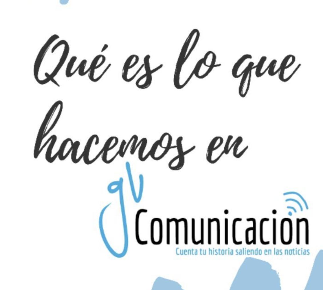 que hacemos en gv comunicacion