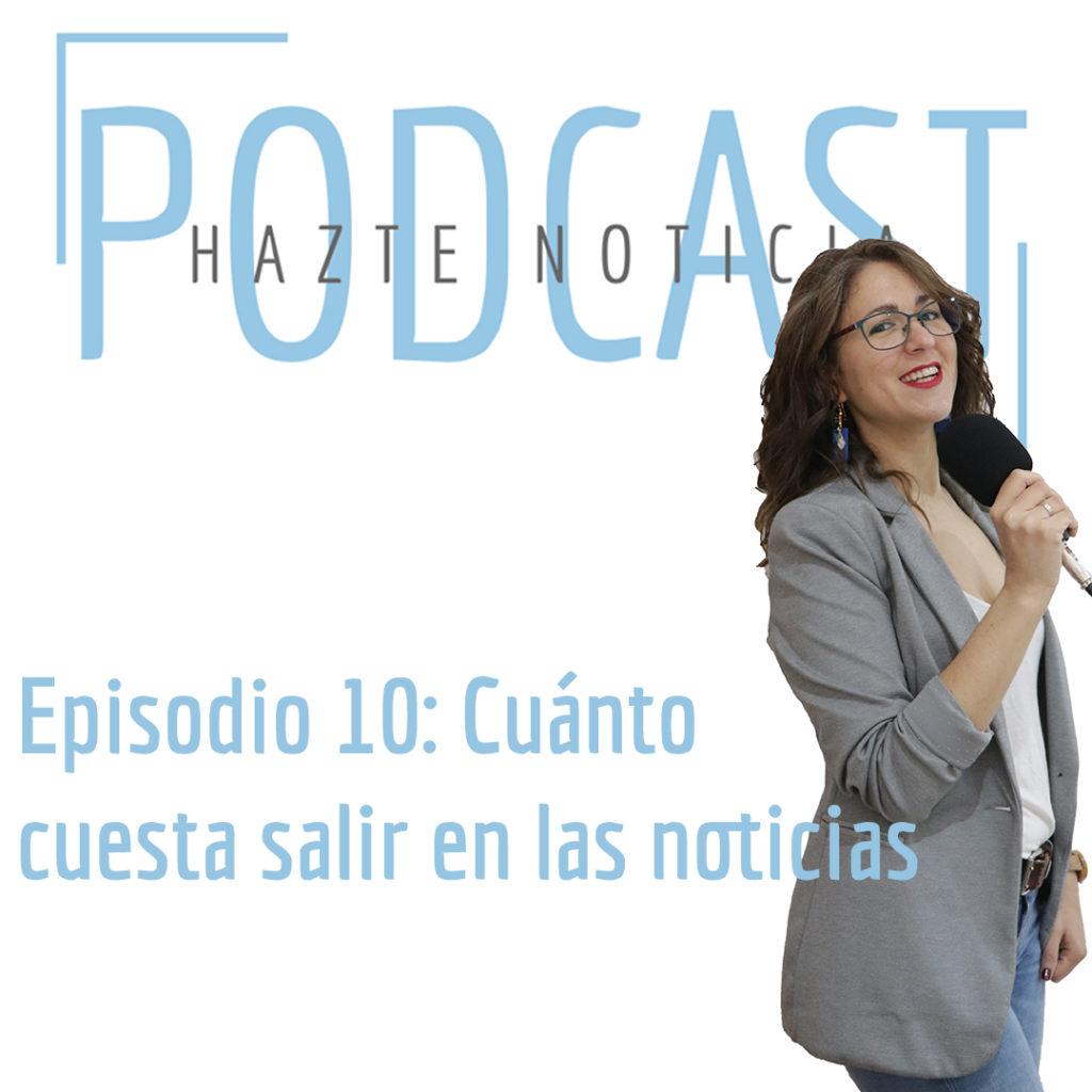 cuanto cuesta salir en las noticias podcast