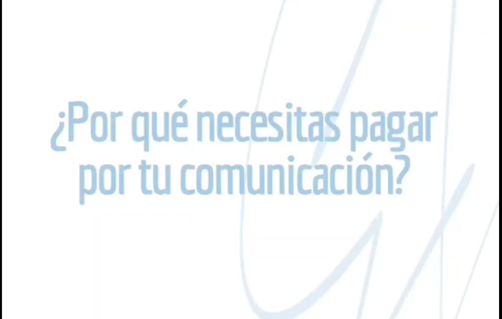 por que pagar por la comunicacion de tu negocio